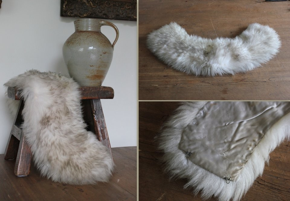 Fake fur bontkraag