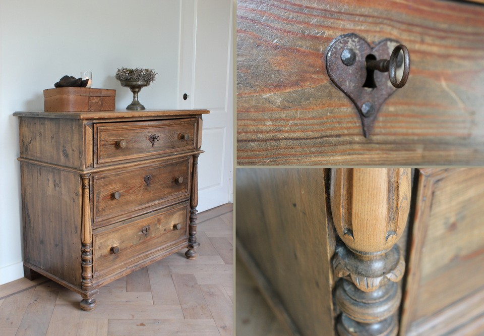 Commode ladenkast